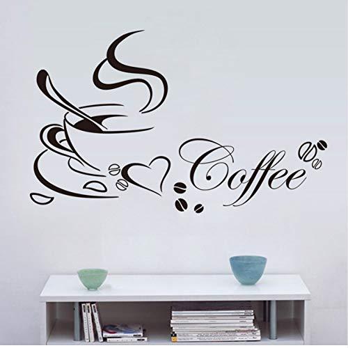 Tapete Wandaufkleber Wandbild Fensteraufkleberneu Gestaltete Kaffeetasse Für Zuhause / Küche...