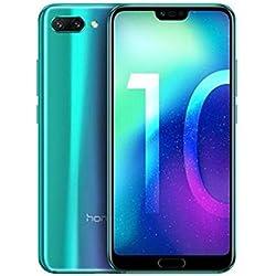 Huawei Honor 10 smartphone, green