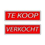 Carpoint 1316301 Schild 'Zu Verkaufen/Verkauft'