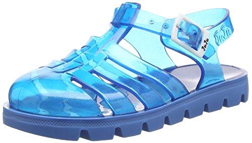 JuJu ShoesNino - Sandali  da Ragazza, Colore Blu (Blue (Denim Blue Sparkles / Denim)), 30 EU (12 Child UK)