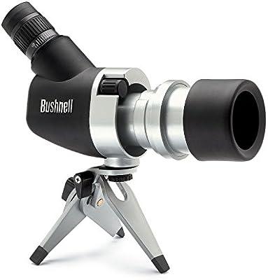Bushnell 15-45x50mm Spacemaster - Telescopio terrestre con ocular 45º, negro y plata