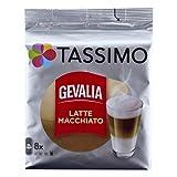 Tassimo Gevalia Latte Macchiato, Café, Capsule Café au Lait, Café, 40portions de Torréfaction
