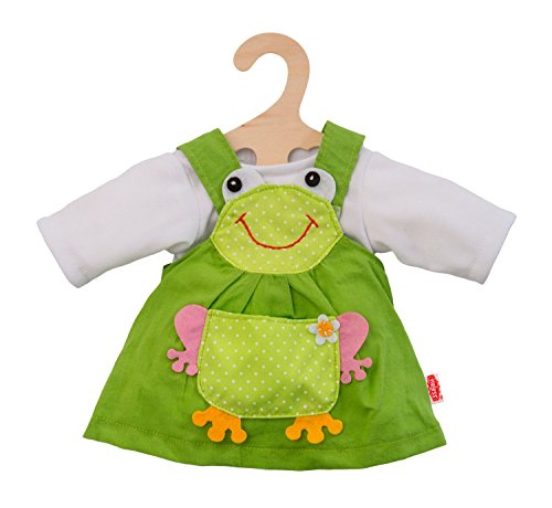 Heless 1488heless Grenouille robe pour petite poupée