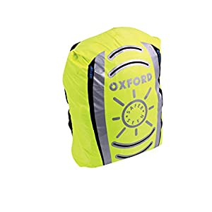41anNW1zN9L. SS300  - Oxford Bright Universal Waterproof Cover for Backpacks - Yellow