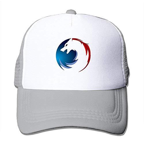 Summer Flexfit Trucker Mesh Cap, Wolf Logo Fitted Hats Sports Baseball Caps - Notre-dame-fitted Cap