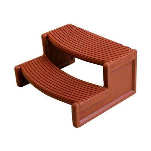 QCA Spas hs2-r Handi Spa Schritt, 29von 35,6cm, Rot Holz -