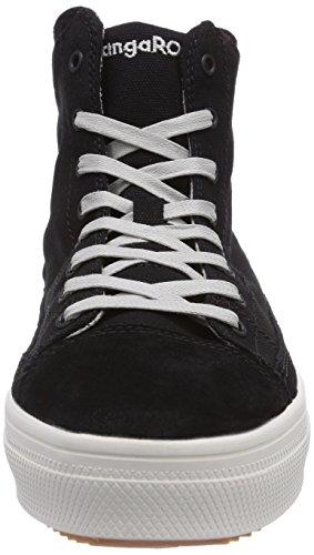 KangaROOS K-Mid Plateau 5072 Damen Hohe Sneakers Schwarz (black 500)