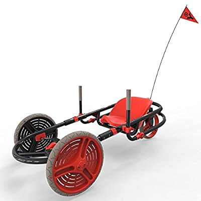 YBIKE Explorer Go-Kart Black & Red