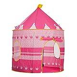 M-import Kinderzelt Schloß - Spielzelt Castle Kinderzimmer für Prinzen (Rosa)