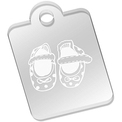 Azeeda 'Baby Schuhe' Schlüsselanhänger (AK00005123)