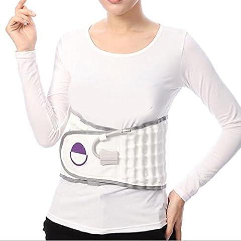 Spinal Air traction- Physio Dekompression Rücken Gürtel Lendenbereich Schmerzen unten Taille (Scheibe Gürtel)