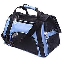 Transportín para mascotas, de PUAO; bolso de mano para mascotas, plegable, transportín