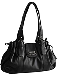 d791ca967b32 Schultertasche von Jennifer Jones - Moderne Damen Handtasche Umhängetasche  Shopper Henkeltasche Damentasche (Farbauswahl) -