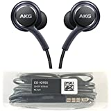 AKG Sound AKG Samsung S8 Compatible in Headphone With Mic 3.5mm Jack Black / Blue (Colour May Be Vary)- Free For All Android Devices