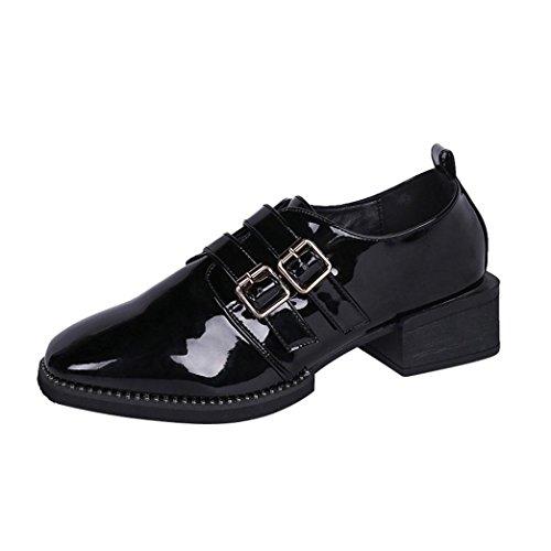 ღ mocassini donna estivi, uomogo mocassini donna pelle eleganti piatto loafer scarpe da barca estive scarpe casual 4-cm