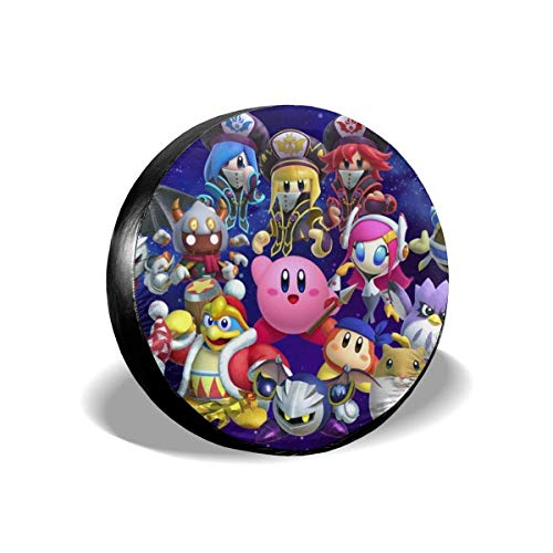 Kirby-cover (DAICHAI HJKAA Spare Tire Cover Kirby Wheel Covers Universal Tires Protectors)