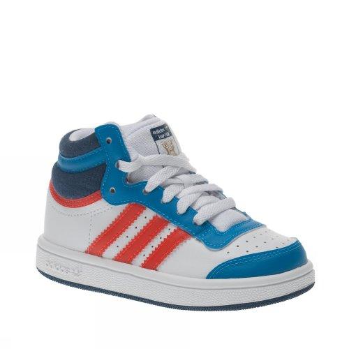 Adidas Top Ten Hi I WHITE/ORANGE/BLU