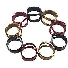 10pcs/lot hombres dedo del anillo único abridor de botellas de vino de acero inoxidable abridores de cerveza Nuevo anillo para herramienta Barra de cerveza Envío gratuito