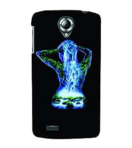 PrintVisa Hot & Sexy Girl 3D Hard Polycarbonate Designer Back Case Cover for Lenovo S820