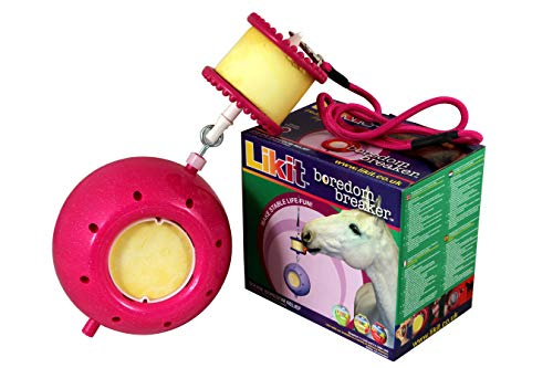 Likit Bordom Breaker Stable Toy One Size Pink -