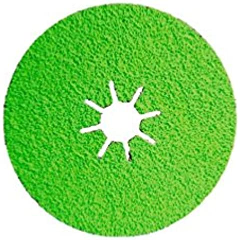 Sidamo–25discos fibra cerámica–d.125X 22,23mm CR 36sidadisc–acero/acero inoxidable–10703013