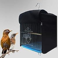 AKDSteel - Funda para Jaula de pájaros, Forma Cuadrada, Estilo al Azar