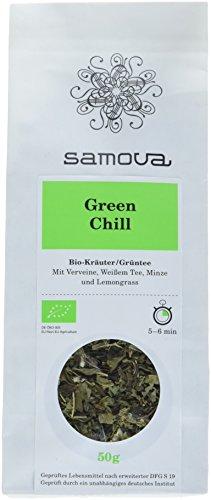 Samova Green Chill Refill - Bio-Kräuter/Grüntee 50g, 1er Pack (1 x 50 g)