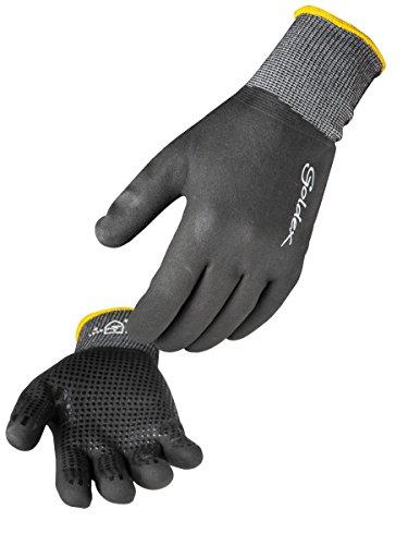 Singer Paire de gants nitrile mousse tout enduit. Support polyamide/Elasthanne sans couture. Jauge 15 NYMFIT02 Taille 9