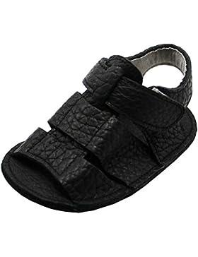 Mejale Baby Schuhe Neugeborenen Sandalen Schuhe rutschfest Kleinkind ersten Wanderer Sommer Schuhe Schwarz