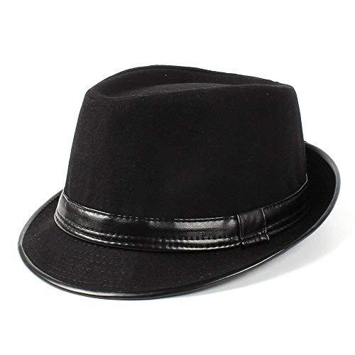 Sehr weich und angenehm zu tragen Frauen Männer Filz Fedora Hat Gentleman Papa Jazz Homburg Pate Hut -