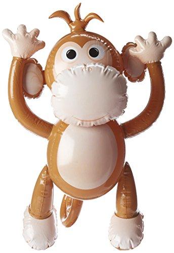 Smiffys Scimmia Marrone Gonfiabile