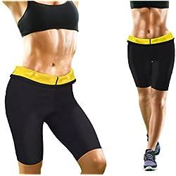 BEAUTYTHERM Sl101N Lot de 2 Pantalons de Sudation Femme, Noir, FR (Taille Fabricant : L-XL)