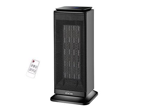 Calefactor cerámico de torre con termostato 1000W - 2000 W HOTI T20 Purline