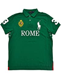 Polo Ralph Lauren Hommes Big Pony City Polo en Maille sur Mesure