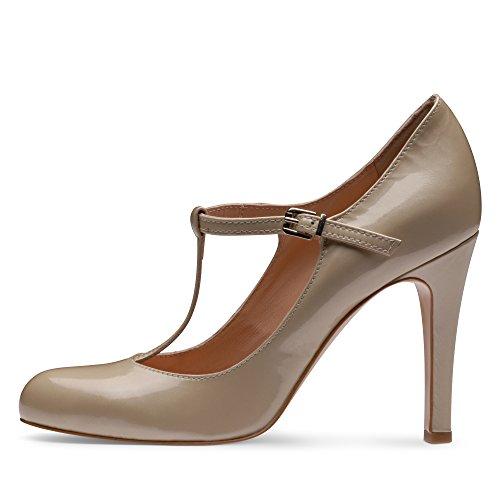 Chaussures Evita, Talons Beiges Pour Femme (beige)