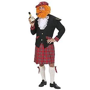 WIDMANN wdm7436s?Disfraz para adulto hombre Escocia, multicolor, XL