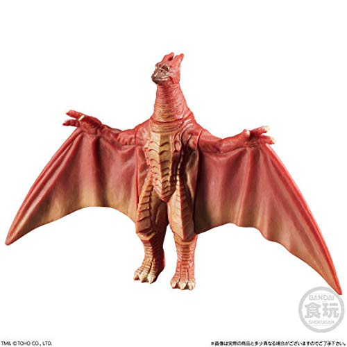 Bandai Godzilla Shingeki Taizen Soft Vinyl Figure Part 2~Final Wars Rodan~Size mm