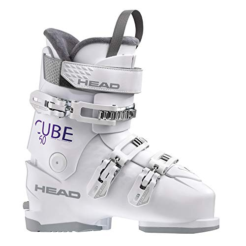 HEAD Damen Cube 3 60 Skischuhe, White, 255