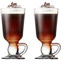 Pasabahce 44109 - Irish Coffee, Punsch, Glühwein, Heiße Schokolade Becher mit Henkel~280 ml, 2 Stück
