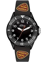 s.Oliver Time Jungen-Armbanduhr SO-3409-PQ