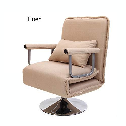 Hfyg Deckchairs Büro Klappstuhl Mittagspause Liege Nap Stuhl Haushalt Liegend Einfaches Bett Sofa Stuhl Single Liegestuhl (Color : G)