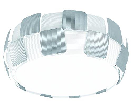 LED decore Faro 2 plafonnier moderne, 25 W, chrome, 42 x 18 cm