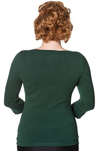Banned Pullover ADDICTED SWEATER 1037 Forest Green