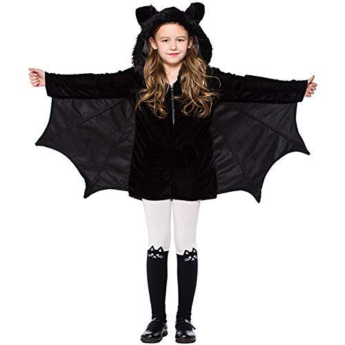 Halloween Kostüme Kinder Mädchen Fledermaus Cosplay Kinderkostüme Tanzparty Party (Süße Katze Kostüm Für Teenager Mädchen)
