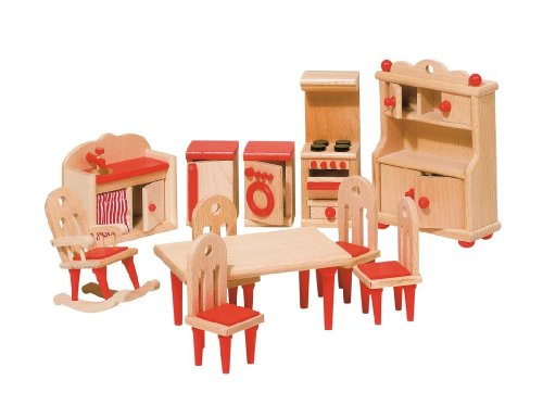 Goki Puppenhausmöbel aus Holz