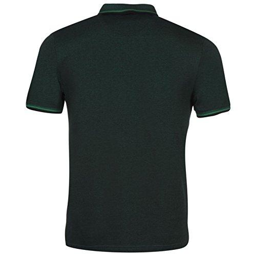 Penguin Herren Birdseye Polo Shirt Leicht Freizeit Kurzarm Polohemd Baumwolle Dark Sapphire