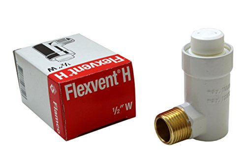 Flamco Flexvent H 1/2' W weiß autom. Schwimmerentlüfter, Schnellentlüfter, 27711