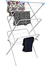 Peng Essentials 3 Tier Arier Cloth Drying Stand (Silver)