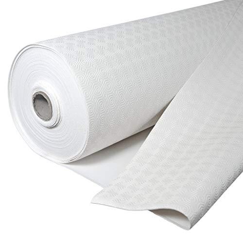 Protector de Mesa, salvamantel gofrado, Hule Muletón, Base Acolchada Impermeable con PVC y algodón, Protege la Mesa de Golpes y ralladuras (140_x_250_cm)