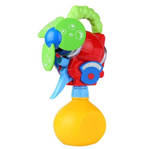 Toyvian Beschlagen Fan Handheld Batteriebetriebene Fan Spielzeug Mini Tragbare Tischventilator Lüfter Nebel Sprayer Wasserpistole Spielzeug für Kinder (zufällige Farbe)